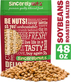 Best roasted salted soy nuts nutrition facts Reviews