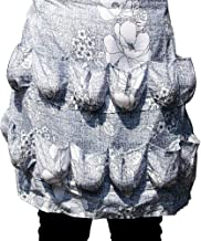 Hense Egg Apron with 12 Pockets, Perfect for Farmer House-hold Clever Housewife Must Have Apron(HSW-026)
