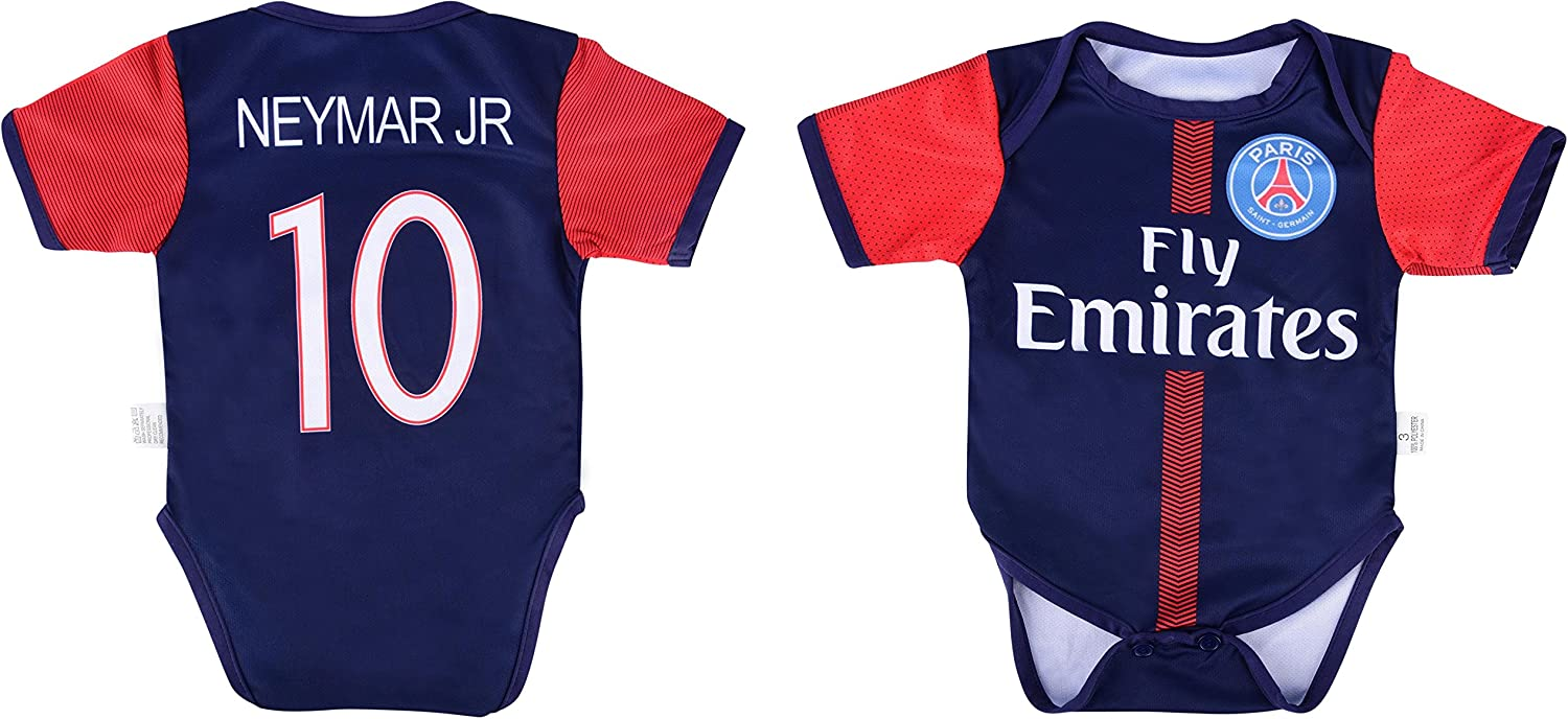 the best attitude 7c106 2f025 World Cup Neymar Jr 10 PSG Soccer Jersey Baby Infant Toddler ...