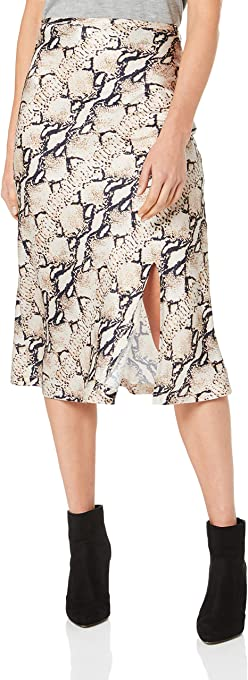Lioness Women's Bias Midi Skirt with Split