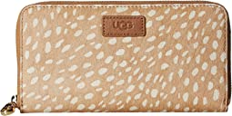 Honey Zip Around Wallet Idyllwild