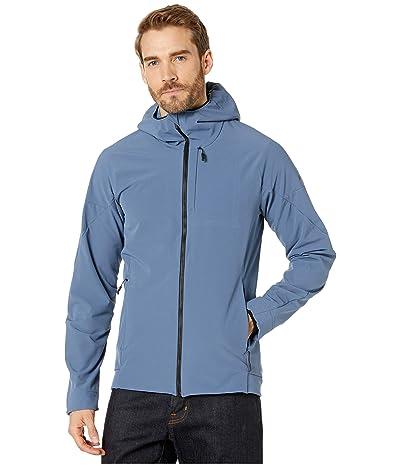 adidas Outdoor Hi-Loft Softshell Jacket (Tech Ink) Men