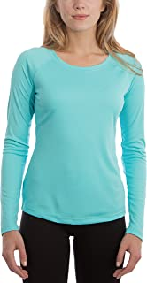 Vapor Apparel Women's UPF 50+ UV/Sun Protection Long Sleeve T-Shirt