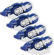 Plus Corporation Glue Tape Tg-610Bc, 72' of Adhesive, 4-Pack (60385)