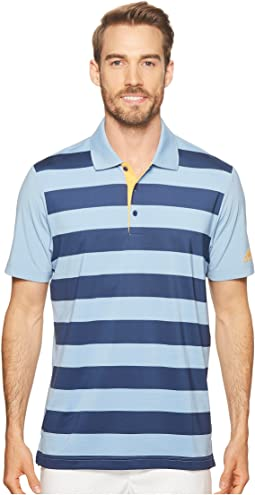adidas Golf Ultimate Rugby Stripe Polo