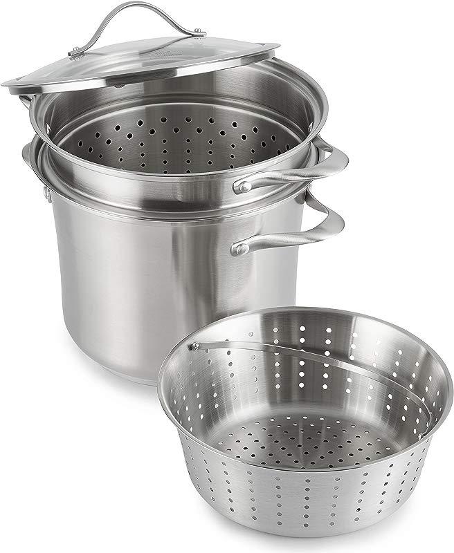 Calphalon Contemporary Stainless Steel Cookware Multi Pot 8 Quart