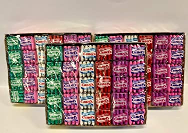 Canels Gum Box Original (60count Per Pack, 3 Packs) Total 180 Units