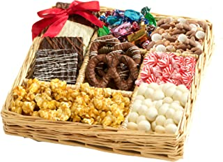 Broadway Basketeers Deluxe Chocolate & Nut Gift Tray