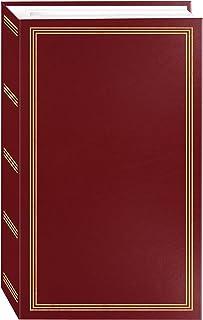 Pioneer Photo Albums Álbum de fotos STC-504 vermelho vinho, 504 bolsos, 10 x 15 cm