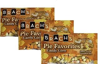Brach's Autumn Candy Corn Pie Fall Favorites - Apple & Pumpkin Pie Variety Pack (Pack of 3)