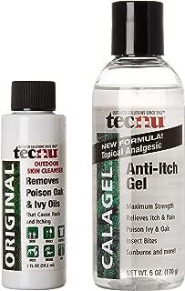 Tec Labs TECNU CalaGel: Medicated Maximum Strength Anti-Itch Gel 6 oz
