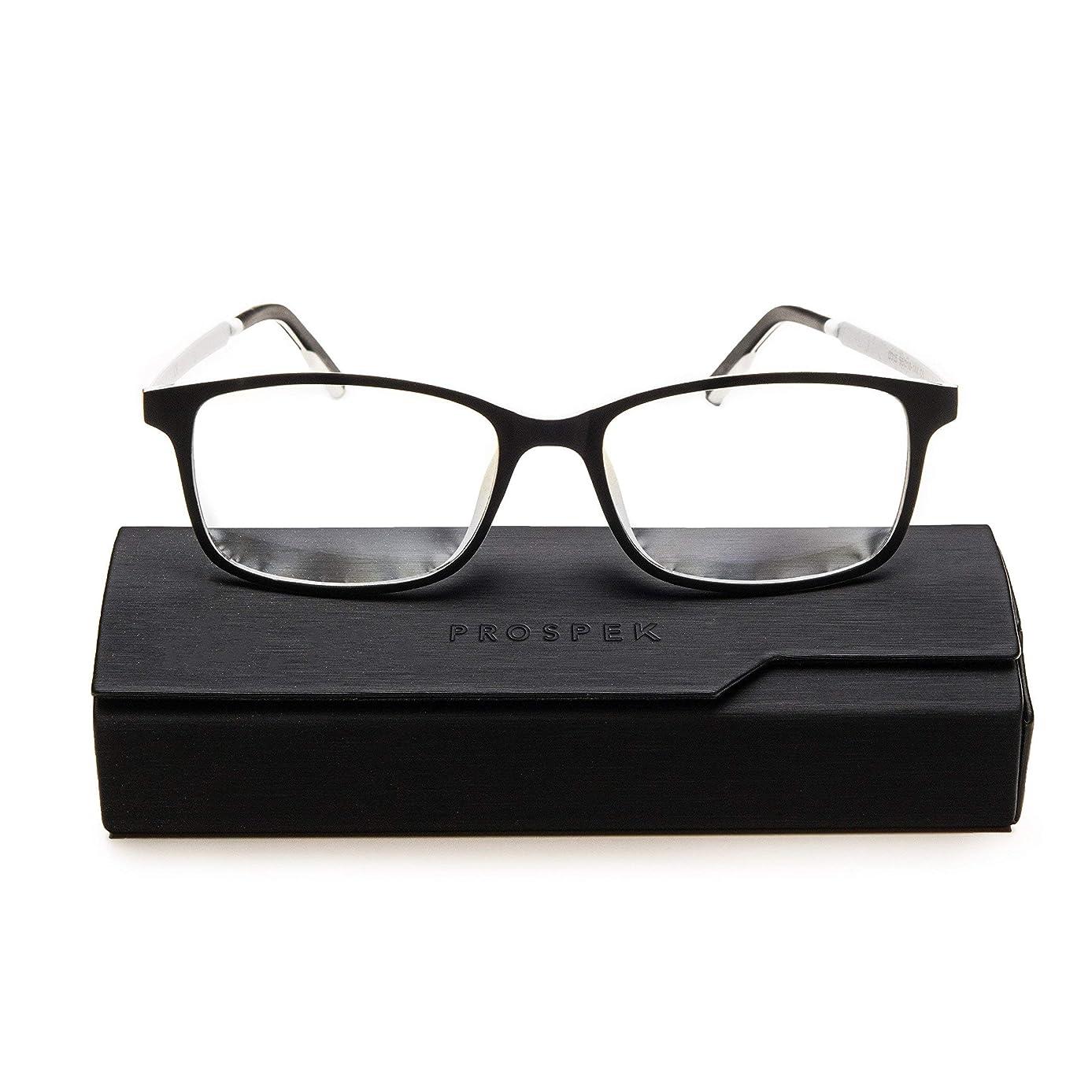 PROSPEK Computer Glasses - Blue Light Blocking Glasses - Arctic (+1.00 Magnification)