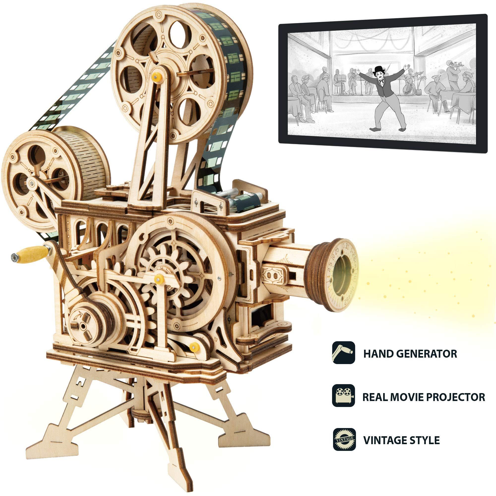 ROKR Wooden Mechanical Construction Vitascope