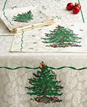 Best spode christmas tree round tablecloth Reviews