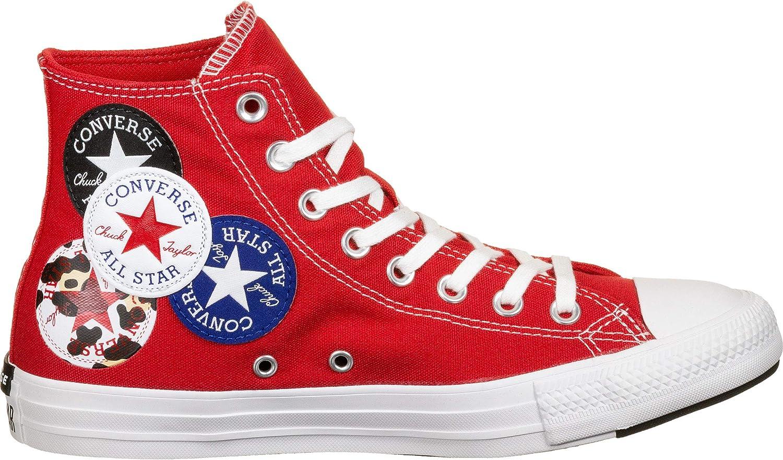 Converse, Chuck Taylor All Star hi, University red/Black/Rush Blue University Red Black Rush Blue 2tAHAJ