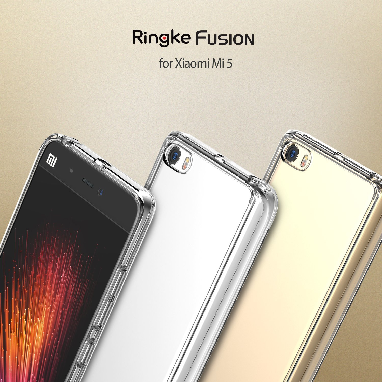 Ringke - Funda Xiaomi MI 5, [Fusion] Choque Absorción TPU ...
