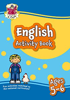 New English Activity Book for Ages 5-6 (Year 1): perfect for learning at home