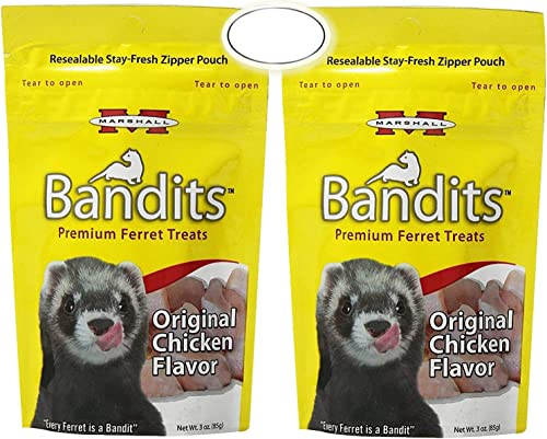 Marshall Bandits Ferret Treat Chicken (2 Pack)