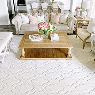 My Texas House by Orian 431285 Indoor/Outdoor Cotton Blossom Area Rug