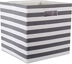 DII Foldable Fabric Storage Container for Nurseries, Offices, Closets, Home Décor, Cube Organizer & Everyday Use, 13 x 13...
