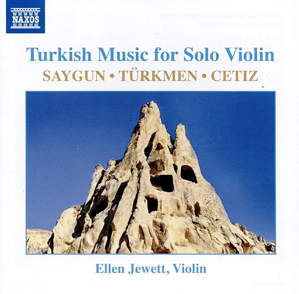 Ellen Jewett: Turkish Music for Solo Violin