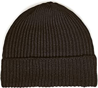 Ribbed Stocking Cap - 100% Alpaca Wool - Traditional Fisherman Style Work Fashion Unisex Durable All Weather Hat