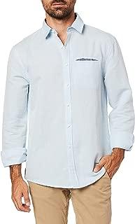 Camisa Manga Longa Pale Blue, JAB, Masculino