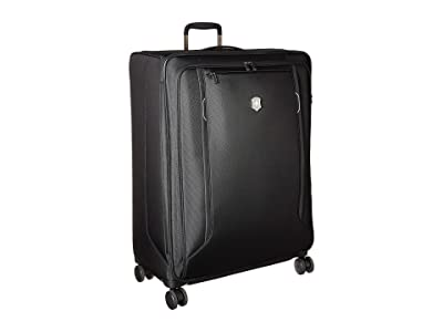 Victorinox Werks Traveler 6.0 Extra-Large Softside Case (Black) Luggage