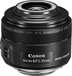 Canon 佳能 单焦微距镜头 EF-S35mm F2.8 宏 IS STM APS-C 适用