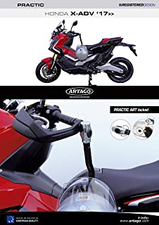 Artago 30X4 Antirrobo Disco Alarma 120 Db Alta Gama y Soporte Honda crf 1000l Africa Twin