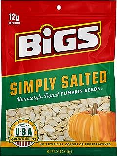 BIGS Simply Salted Homestyle Roast Pumpkin Seeds, Keto Friendly, 5-oz. Bag