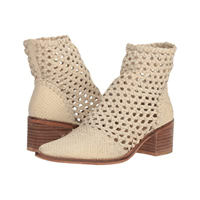 Free People In the Loop Woven Boot (White) Women