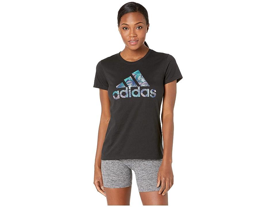 adidas Troical Badge of Sport Tee (Black) Women