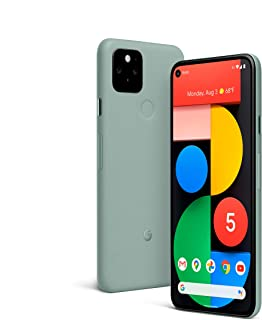 Google Pixel 5 - 5G Android Phone - Water Resistant - Unlocked Smartphone with Night Sight and...