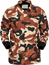 Hat and Beyond Mens Coaches Jackets Waterproof Active Windbreaker