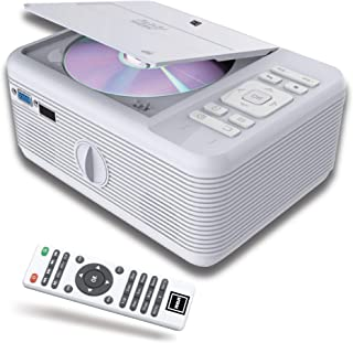 RCA Projector Bluetooth & Built in -DVD Player. Movie Portable Projector with WiFi- for Android, 1080P Supported for HD, V...