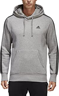 adidas Men's Essentials 3-Stripe Pullover Hoodie