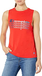 Champion Womens W5683G Sport Muscle Tank Sleeveless T-Shirt