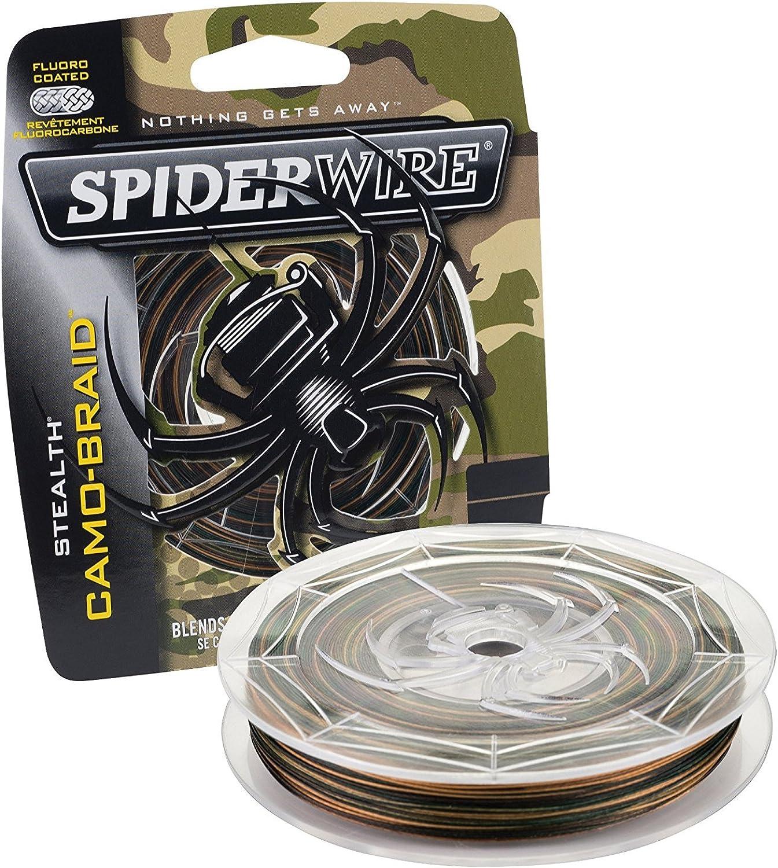 Spiderwire Braided Stealth Superline 4 Packs (125Yard 6Pound (4 Pack) Camo)