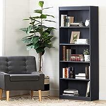 South Shore Axess 5-Shelf Bookcase, Blueberry
