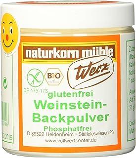 Werz Weinstein Backpulver glutenfrei 1er Pack 1 x 150 g Dose - Bio