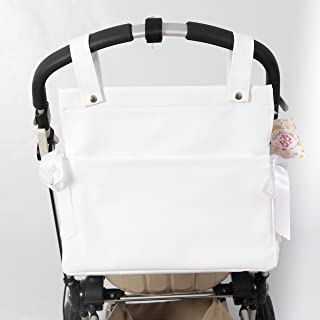 Amazon.es: bolso carrito bebe polipiel blanco