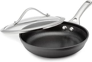 Calphalon Contemporary Hard-Anodized Aluminum Nonstick Cookware, Omelette Pan, 8-inch, Black