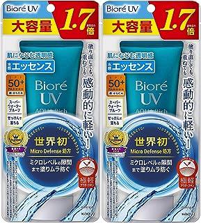 ビオレUV アクアリッチ ウォータリエッセンス 85g 日焼け止め SPF50+/PA++++x2個セット