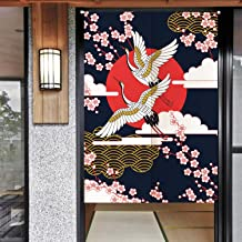 Ofat Home Noren Doorway Curtain Wide, Japanese Noren Doorway Curtain/Tapestry, Japanese Doorway Curtain 85 x 150cm for Home Decor
