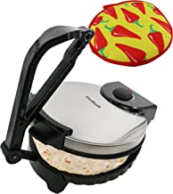 10inch Roti Maker by StarBlue with FREE Roti Warmer – The automatic Stainless Steel..