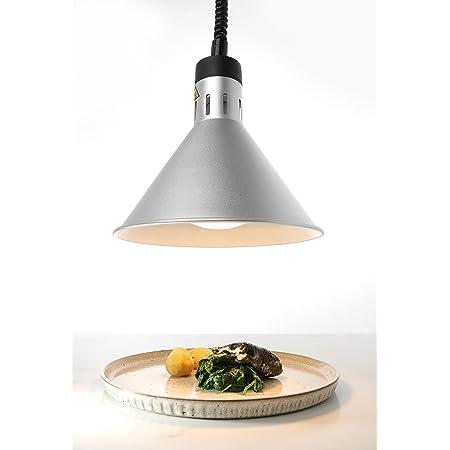 Hendi 273869 Lampe chauffante conique réglable