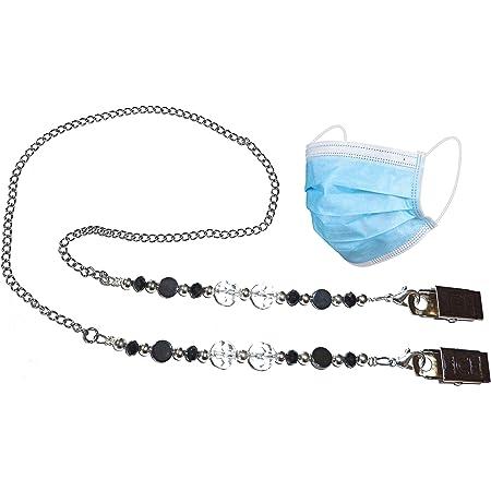 FML064-4 Turquoise Face Mask LanyardHolder and Eyeglasses Lanyard