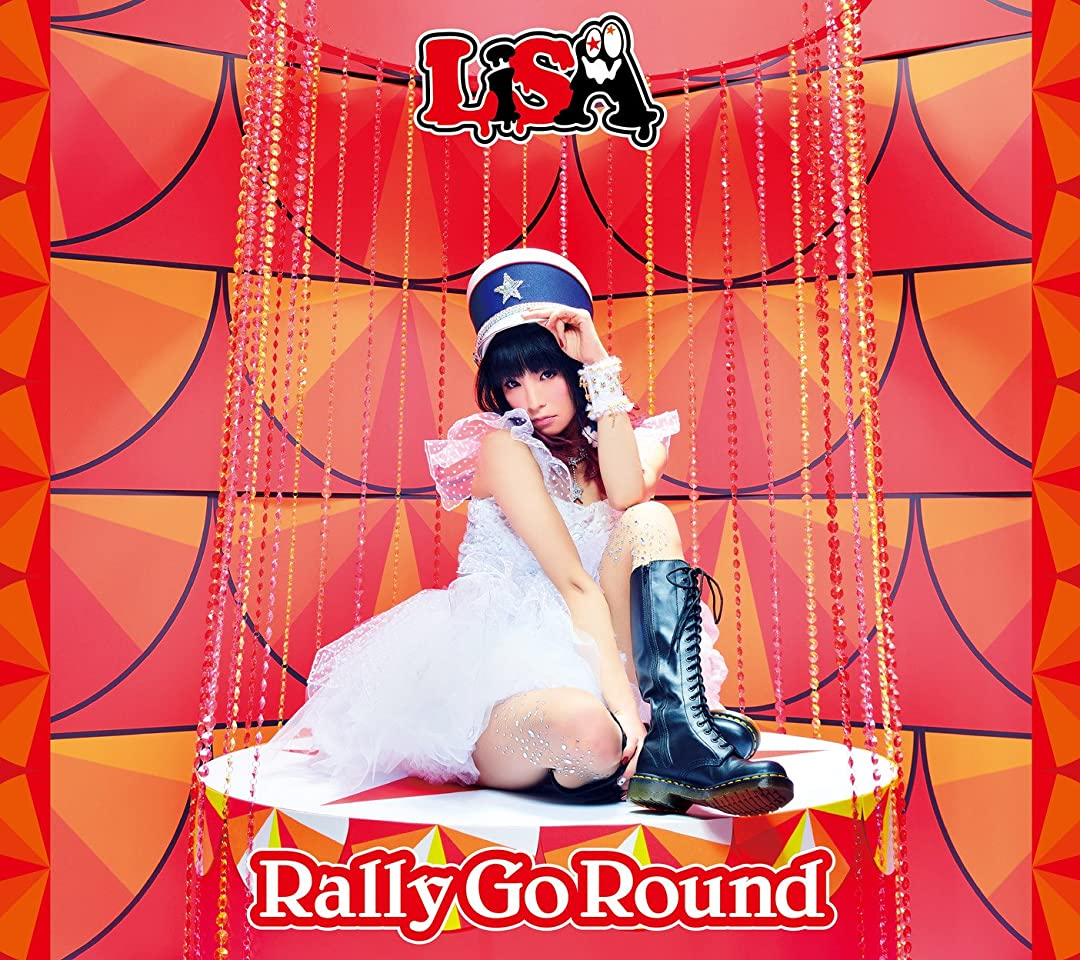 LiSA Rally Go Round QHD(1080×960)スマホ 壁紙・待ち受け
