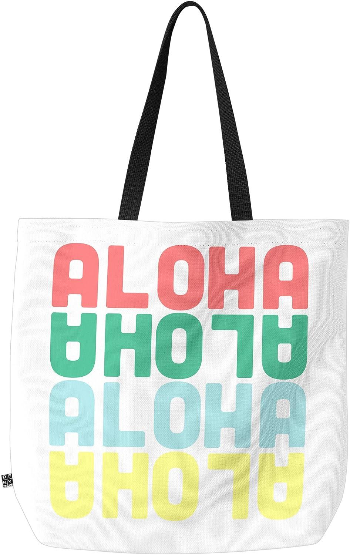 Deny Designs Aloha Again Carry All Tote Bag, 18  x 16